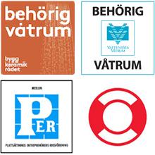 certifikat-behörigheter-uppsala-logotyper-trygg-hansa-behörig-våtrum